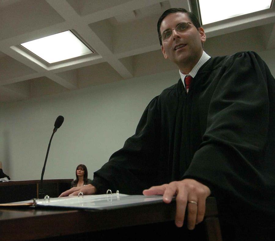 El juez presidente del Tribunal Federal para el Distrito de Puerto Rico, Gustavo A. Gelpí, reconoció que el número de casos que atienden los jueces ha incrementado considerablemente. (semisquare-x3)