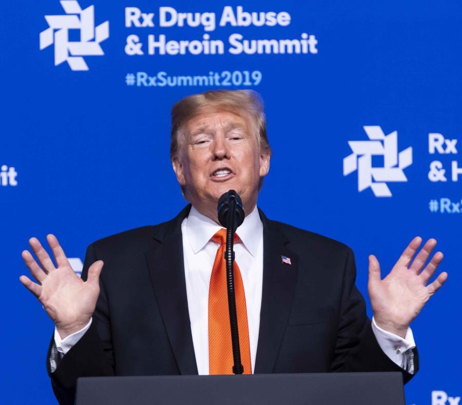 Trump envió soldados a la frontera para asistir a agentes fronterizos en su respuesta a varias caravanas de migrantes centroamericanos que viajaban a través de México con la esperanza de llegar a Estados Unidos. (AP) (semisquare-x3)