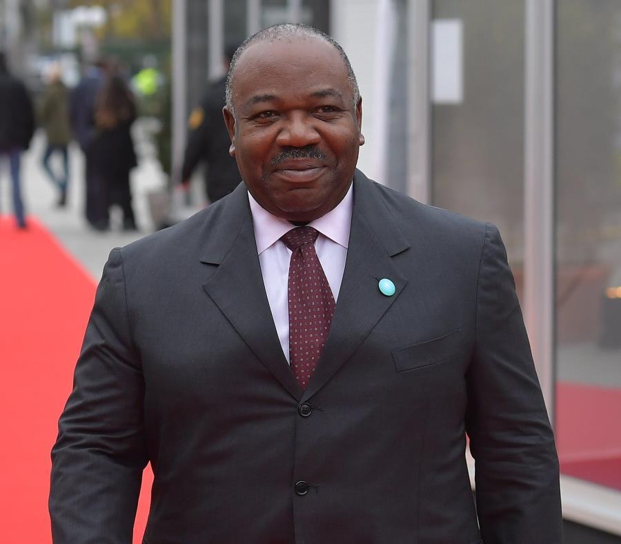 El presidente, Ali Bongo, está en el poder desde 2009 (semisquare-x3)