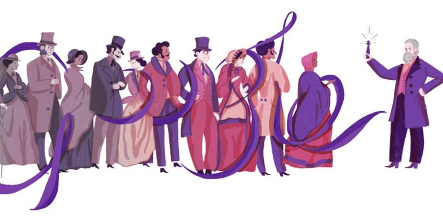 Google celebra el aniversario del químico William Henry Perkin (horizontal-x3)