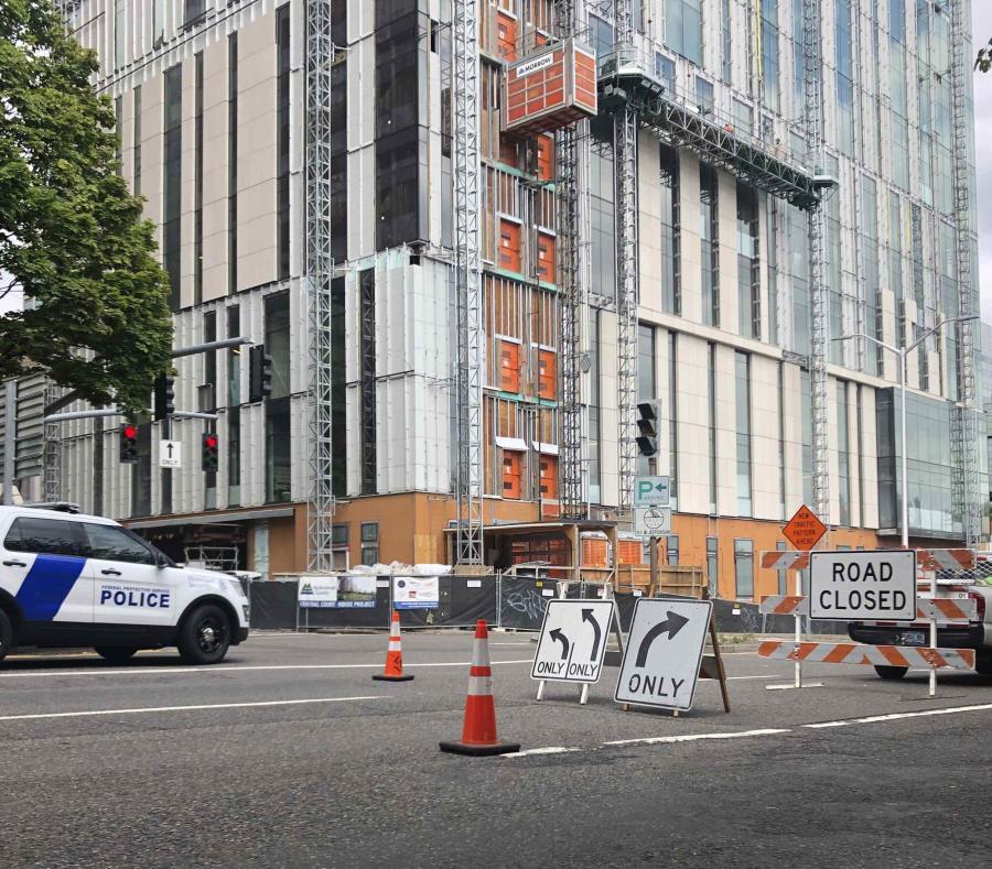 Portland permanece bajo estricta custodia policial por manifestaciones
