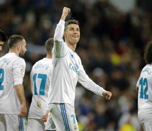 Cristiano Ronaldo enciende la lucha por título de goleo en España