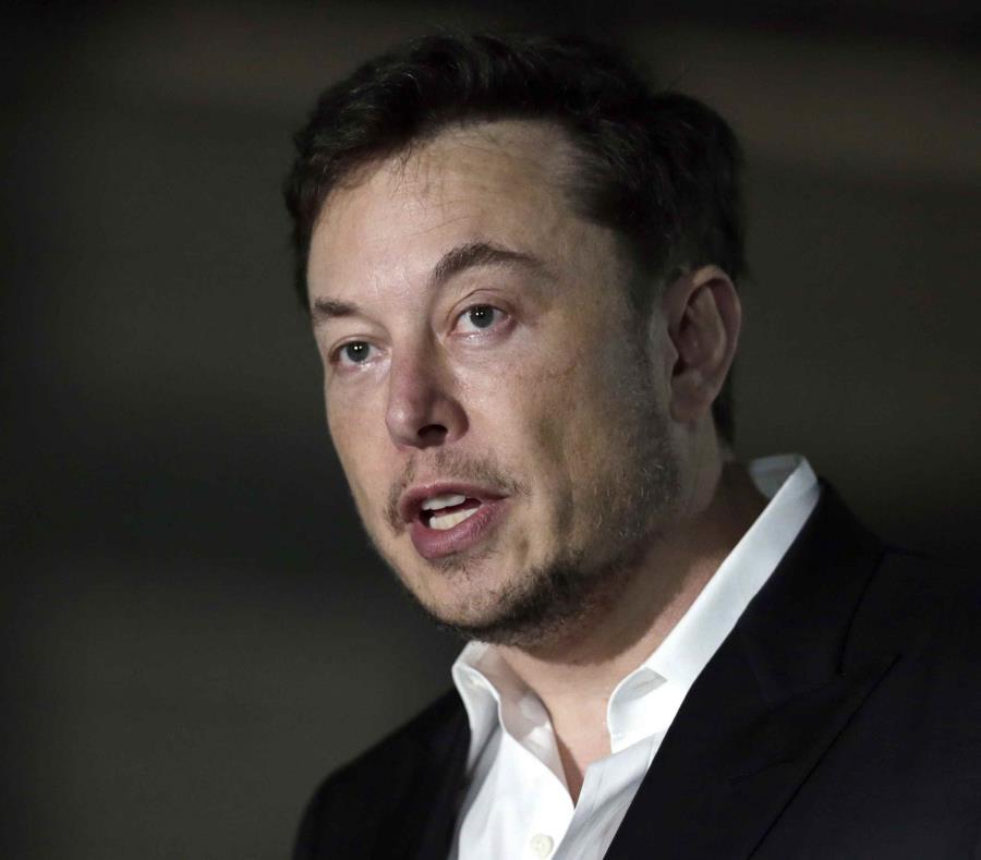 Elon Musk, director general de Tesla, en una foto del 14 de junio de 2018. (semisquare-x3)