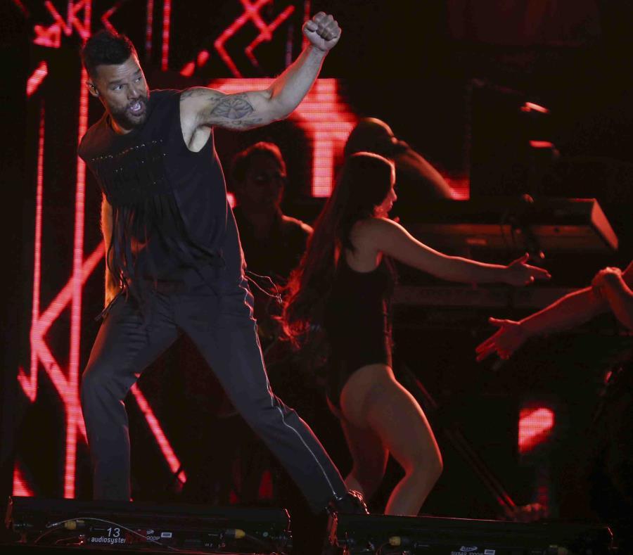 Ricky Martin desborda con su sabor latino en el Zócalo