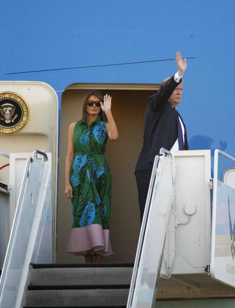 Donald Trump llega a Japón, la primera escala de su gira por Asia (vertical-x1)