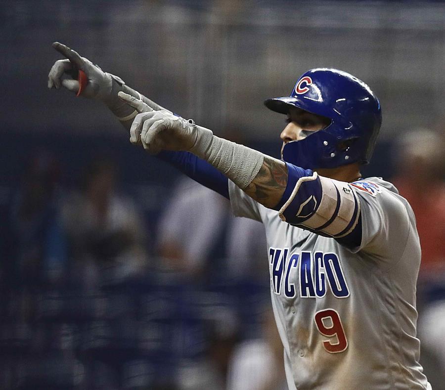 Desde que irrumpió en las Grandes Ligas, Báez ha sido elogiado por su capacidad de ofrecer espectáculo. (AP Photo/Brynn Anderson) (semisquare-x3)