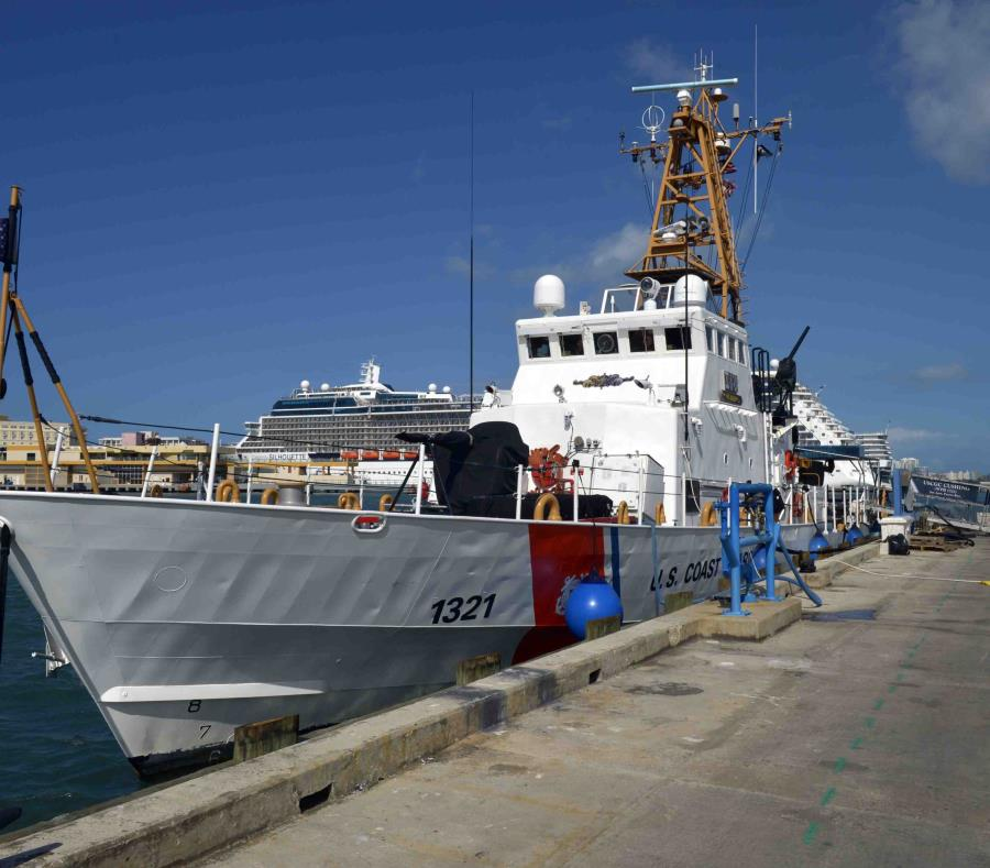 Tripulante de crucero cae al mar al noroeste de Aguadilla