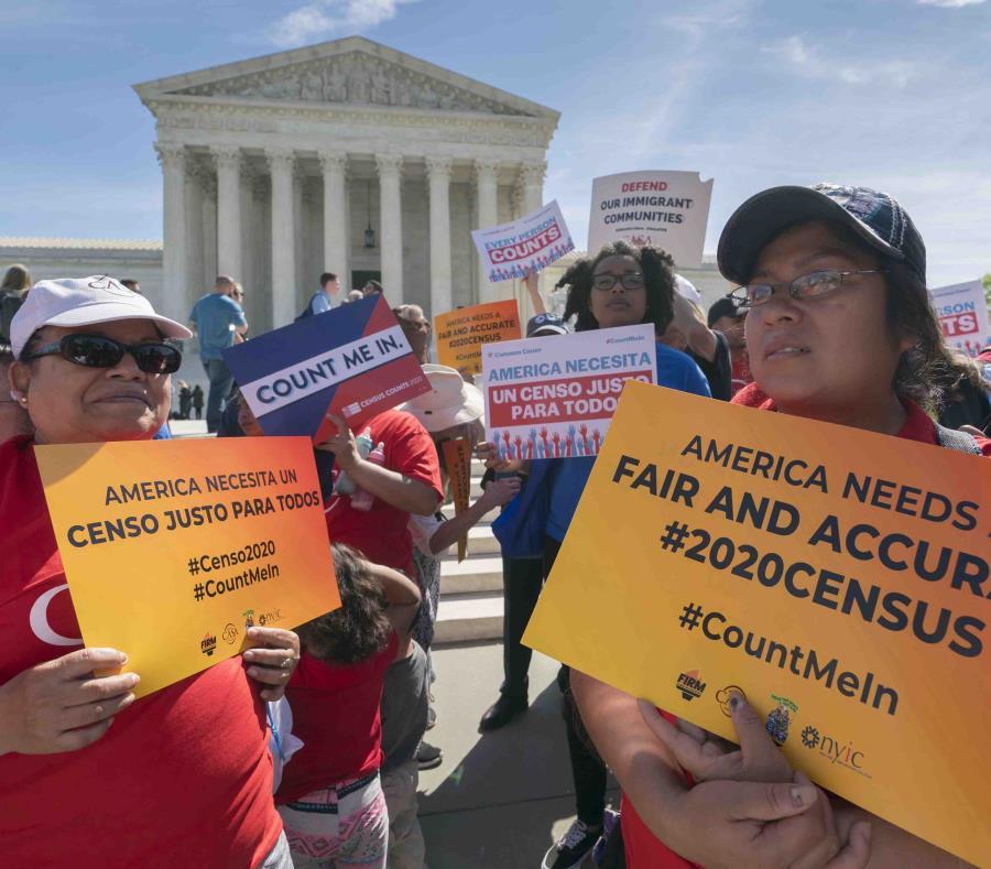 Una coalición de organizaciones proinmigrantes ha pedido que no se incluya una modificación de contenido en el censo. (AP) (semisquare-x3)
