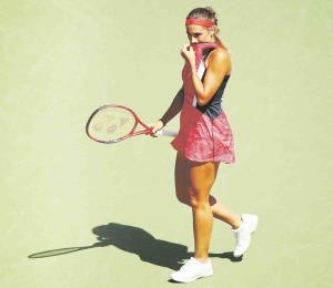 Mónica Puig se retira por lesión en primera ronda de Austria