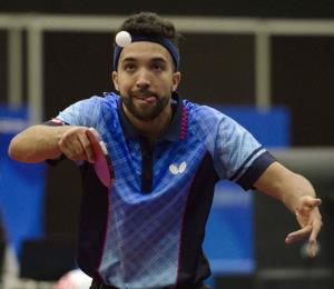 El tenismesista Daniel González pule sus destrezas en España