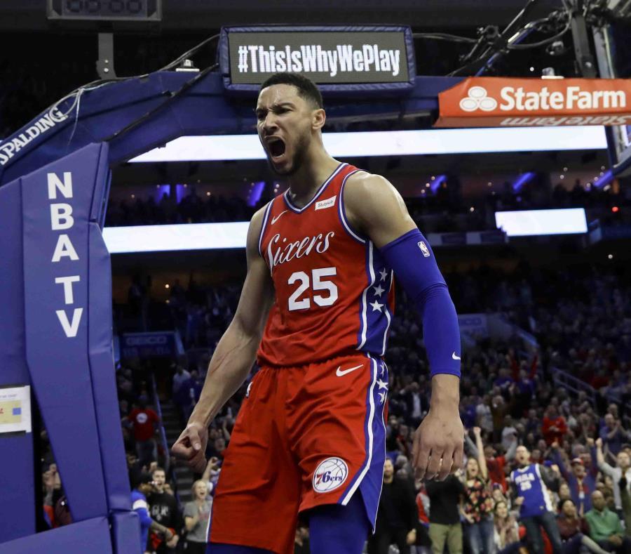 Los Sixers de un estelar Embiid pueden con los Lakers de LeBron
