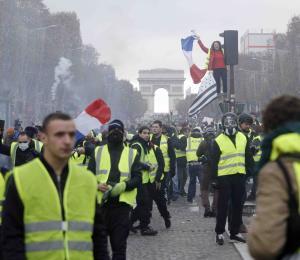 Qué pasa en la Francia huelguista