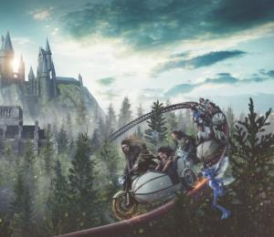 La historia detrás de la nueva montaña rusa de Harry Potter en Islands of Adventure