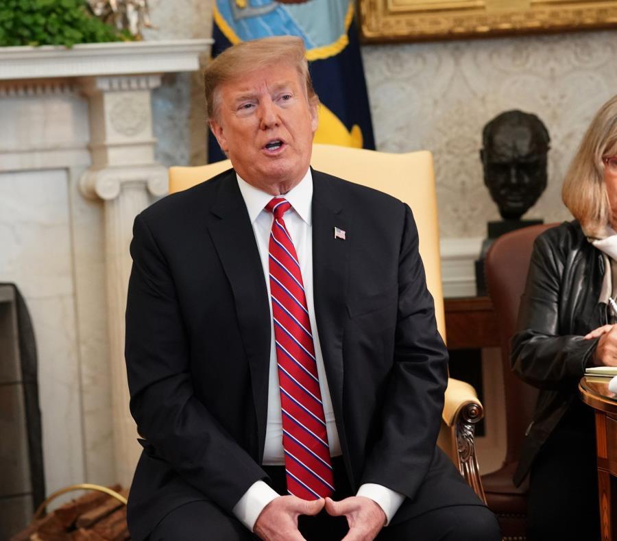 El presidente de Estados Unidos, Donald Trump (semisquare-x3)