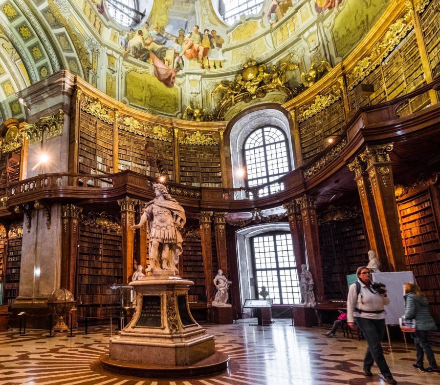 La Biblioteca Nacional de Austria es una joya escondida en este país europeo. (Suministrada) (semisquare-x3)