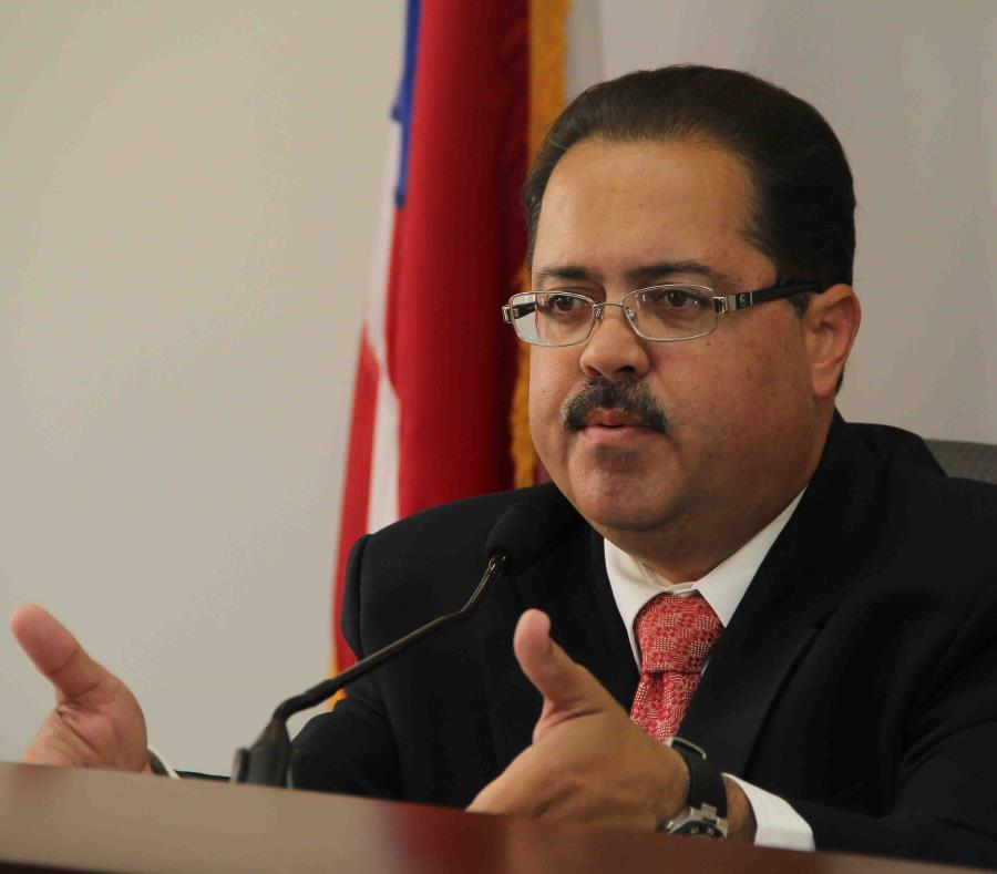 El senador José Luis Dalmau fue uno de los miembros del PPD que pidió la interención de Ricardo Rosselló Nevares y de la jueza presidenta del Tribunal Supremo, Maite Oronoz Rodríguez. (GFR Media) (semisquare-x3)