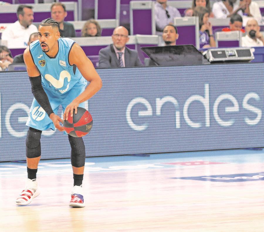 El escolta Gian Clavell es uno de los pocos boricuas que actualmente juegan en ligas de alto nivel en Europa. Este suda la camiseta del Estudiantes de la Liga ACB de España. (Suministrada) (semisquare-x3)
