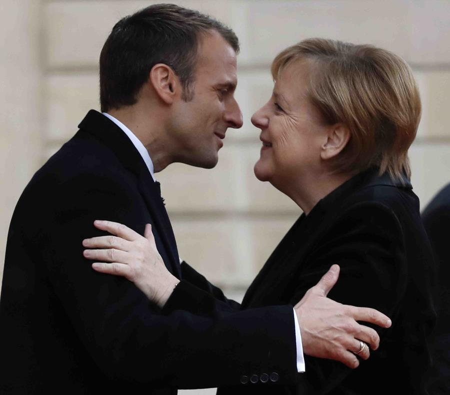 Macron apela a la unidad de Europa ante el Parlamento alemán