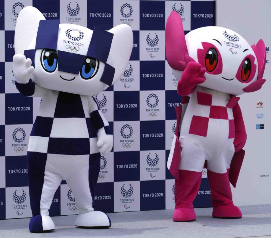 Miraitowa y Someity, las mascotas olímpicas de Tokio 2020