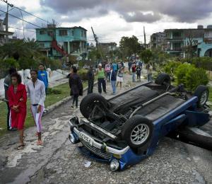 Casi 10,000 personas fueron evacuadas por el tornado de La Habana