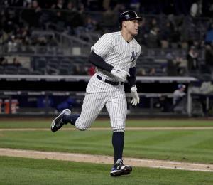 Judge conecta un kilométrico cuadrangular en la victoria de los Yankees