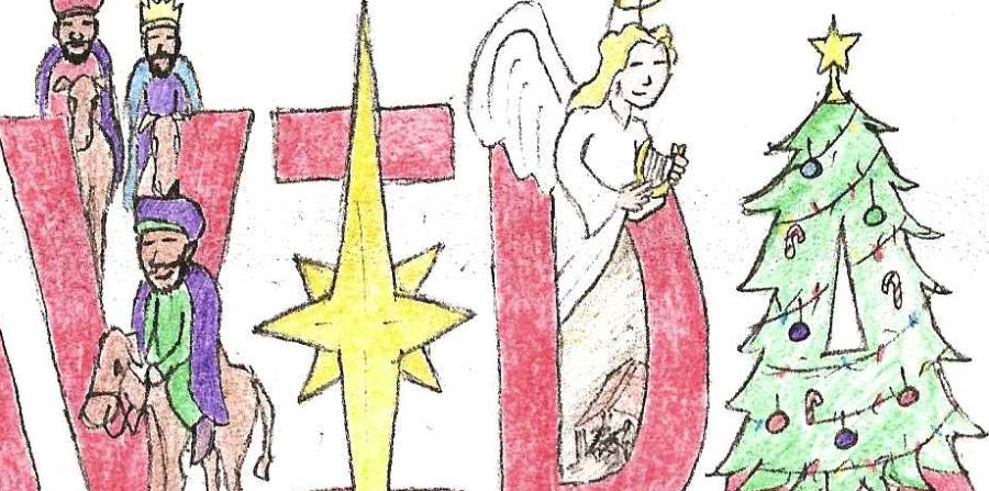 Concurso De Postales De Navidad 2018 El Nuevo Dia - Postales-navidad-dibujos