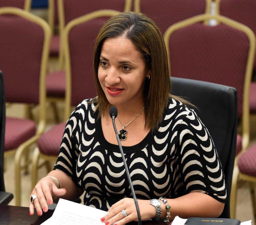 Karla Angleró, comisionada electoral alterna del PPD (semisquare-x3)