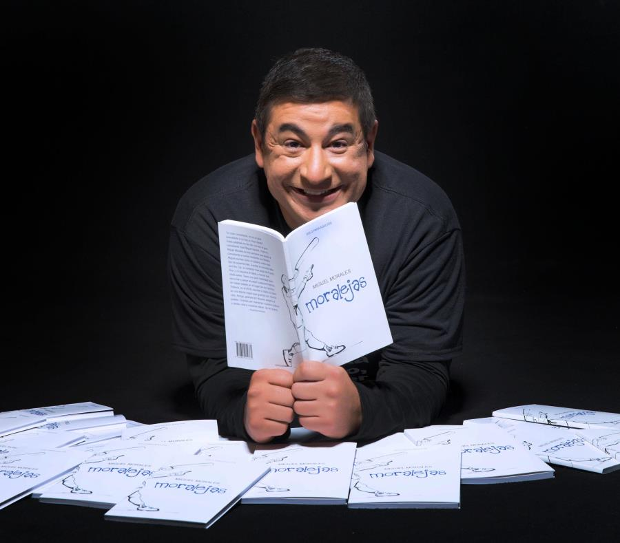 Durante su gira en Texas y Florida, Miguel Morales estará a la venta su nuevo libro Moralejas. (Suministrada) (semisquare-x3)