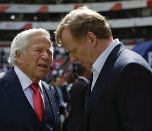 El comisionando de la NFL tiene autoridad para multar o suspender a Kraft