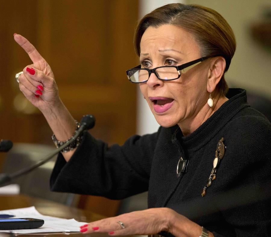 La demócrata Nydia Velázquez, congresista por Nueva York. (AP/Jacquelyn Martin) (semisquare-x3)