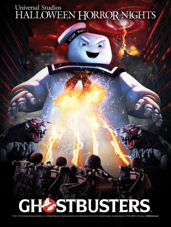 Ghostbusters cuenta con un área temática para asustar a sus visitantes. (Suministrada)