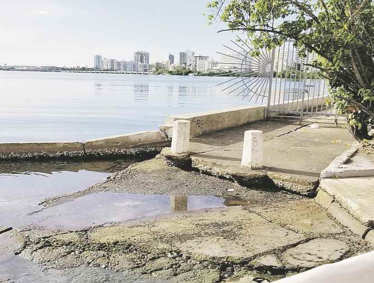 La erosión en la costa norte empeoró tras los huracanes Irma y María y las marejadas de marzo. (Suministrada) (semisquare-x3)