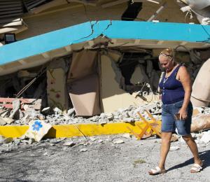 Ante el terremoto, toma control