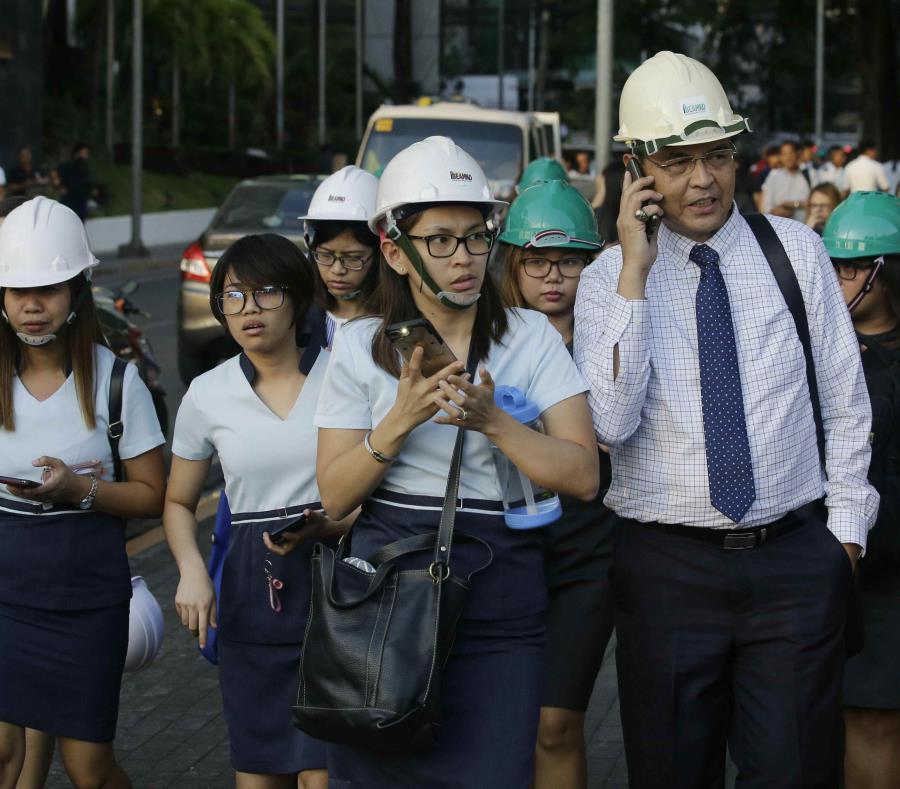 Un terremoto de 6,3 sacude Filipinas y mata a cinco personas