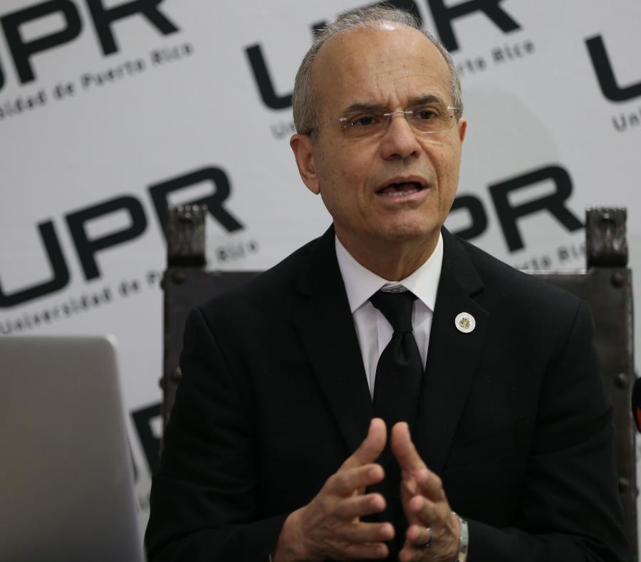 El doctor Jorge Haddock, presidente de la UPR. (GFR Media) (semisquare-x3)