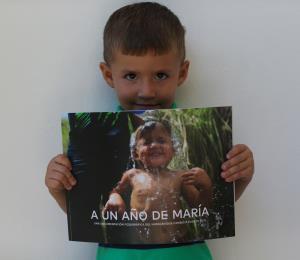 La inocencia de un niño se antepuso a la tragedia del huracán María