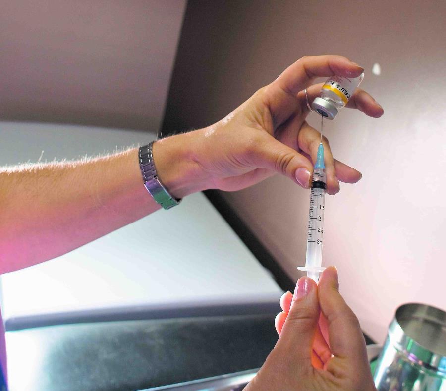 Recomiendan vacunarse contra la influenza. (GFR Media) (semisquare-x3)