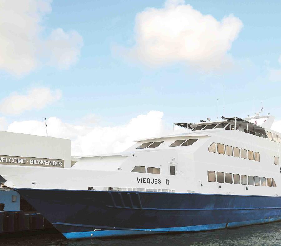 A través del portal porferry.com puede adquirir su boleto de transporte en embarcación hacia y desde las islas municipio de Vieques y Culebra. (GFR Media) (semisquare-x3)
