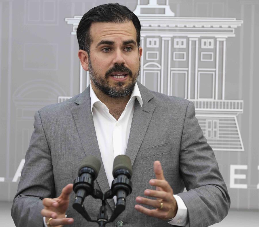 El gobernador Ricardo Rosselló Nevares sostuvo que los fondos son esenciales para la reconstrucción de Puerto Rico. (GFR Media) (semisquare-x3)