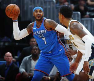 Carmelo Anthony firma por un año con los Rockets