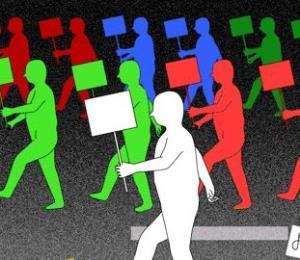 El 1 de mayo trabajo y protesto