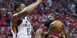 James Harden aporta en la victoria de los Rockets sobre el Jazz