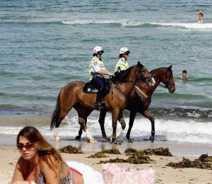 El exhibicionismo en la playa