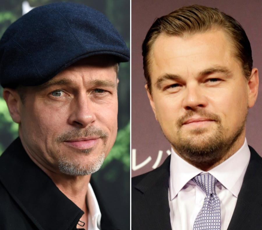 Leonardo DiCaprio y Brad Pitt llaman a votar en EE.UU