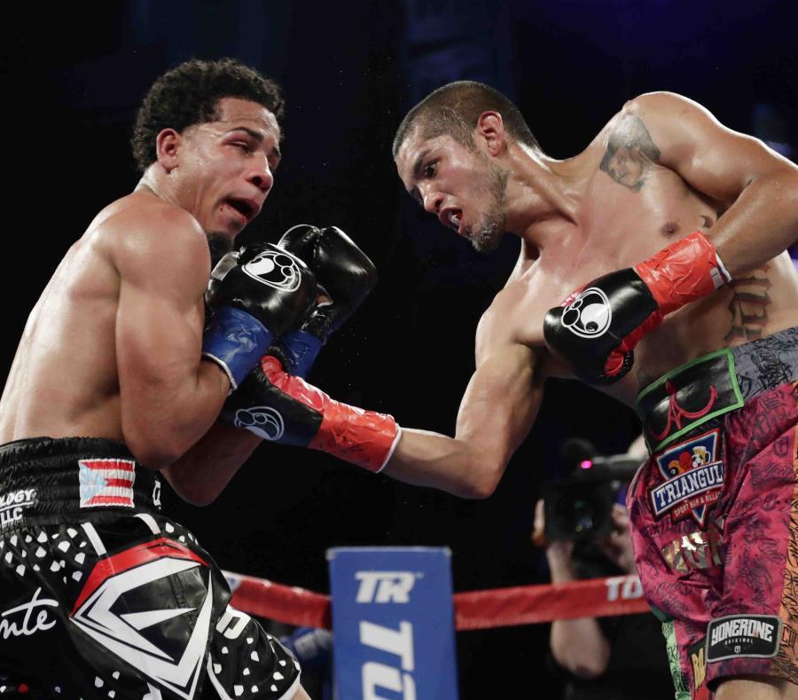 Félix Verdejo perdió su invicto al caer el año pasado ante el mexicano Antonio Lozada por nocaut técnico en 10 asaltos. (semisquare-x3)