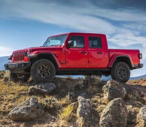 Jeep Gladiator 2020: pickup mediana lista para cualquier trabajo