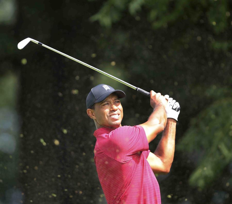 Tiger Woods durante el torneo de Northern Trust en Nueva Jersey. (AP) (semisquare-x3)