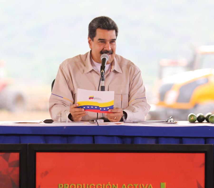 Nicolás Maduro, rechazó la medida de Estados Unidos de suspender los vuelos entre ambos países (semisquare-x3)