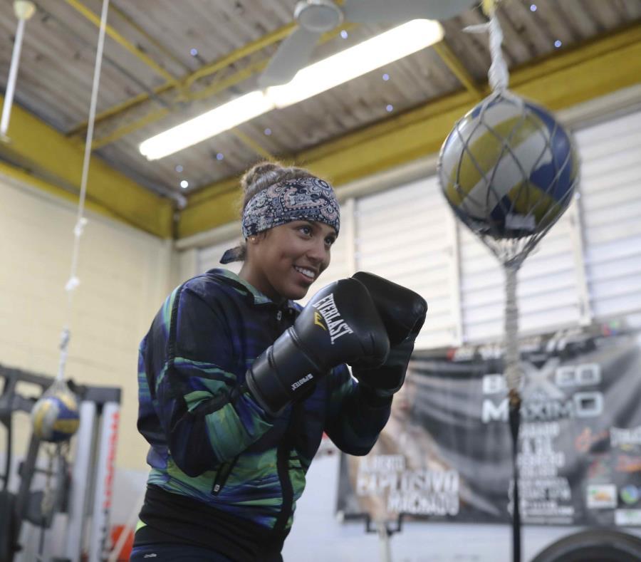 Kiria Tapia es una de las boxeadoras que busca un espacio para los Panamericanos de Lima. (Archivo / GFR Media) (semisquare-x3)