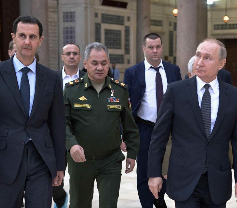 Deja ataque aéreo 8 muertos en Siria